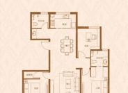 昇龙院 D户型,3室2厅2卫,119平